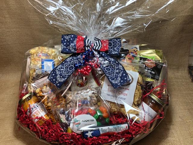 Texas Size Breakroom Bonanza Gift Basket