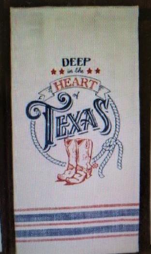 Texas Pride Tea Towel