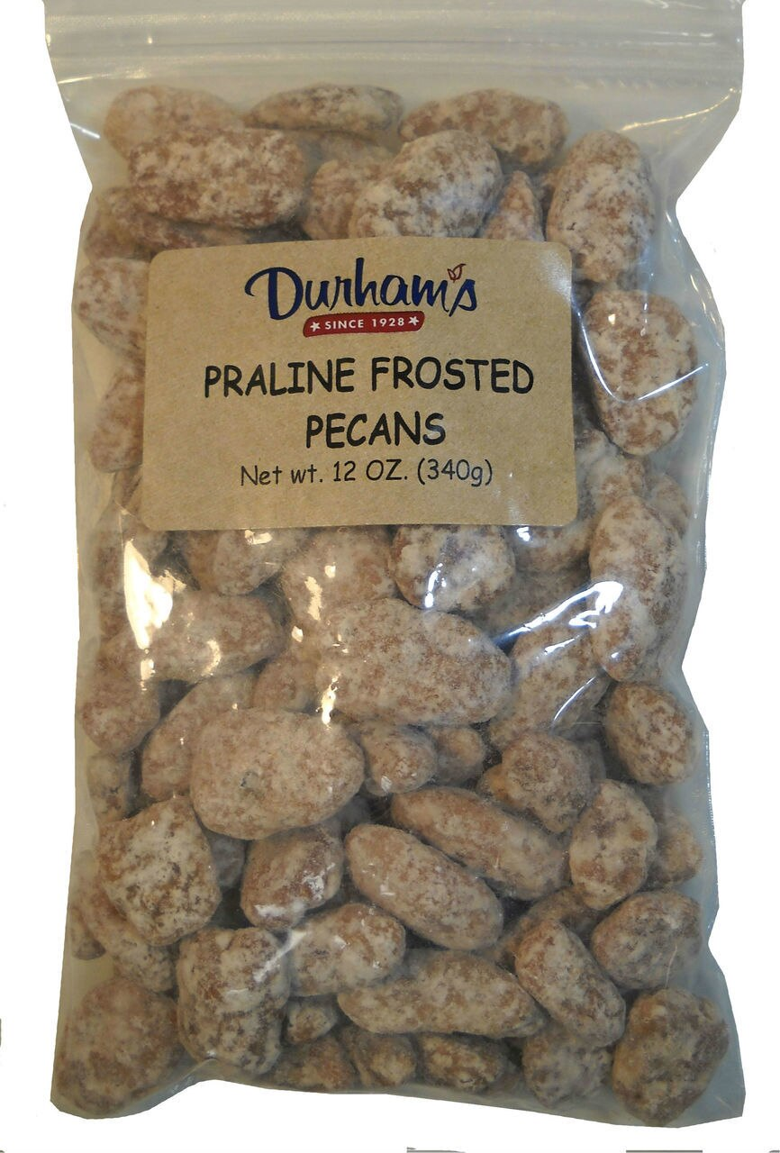 Praline Frosted Pecans 1
