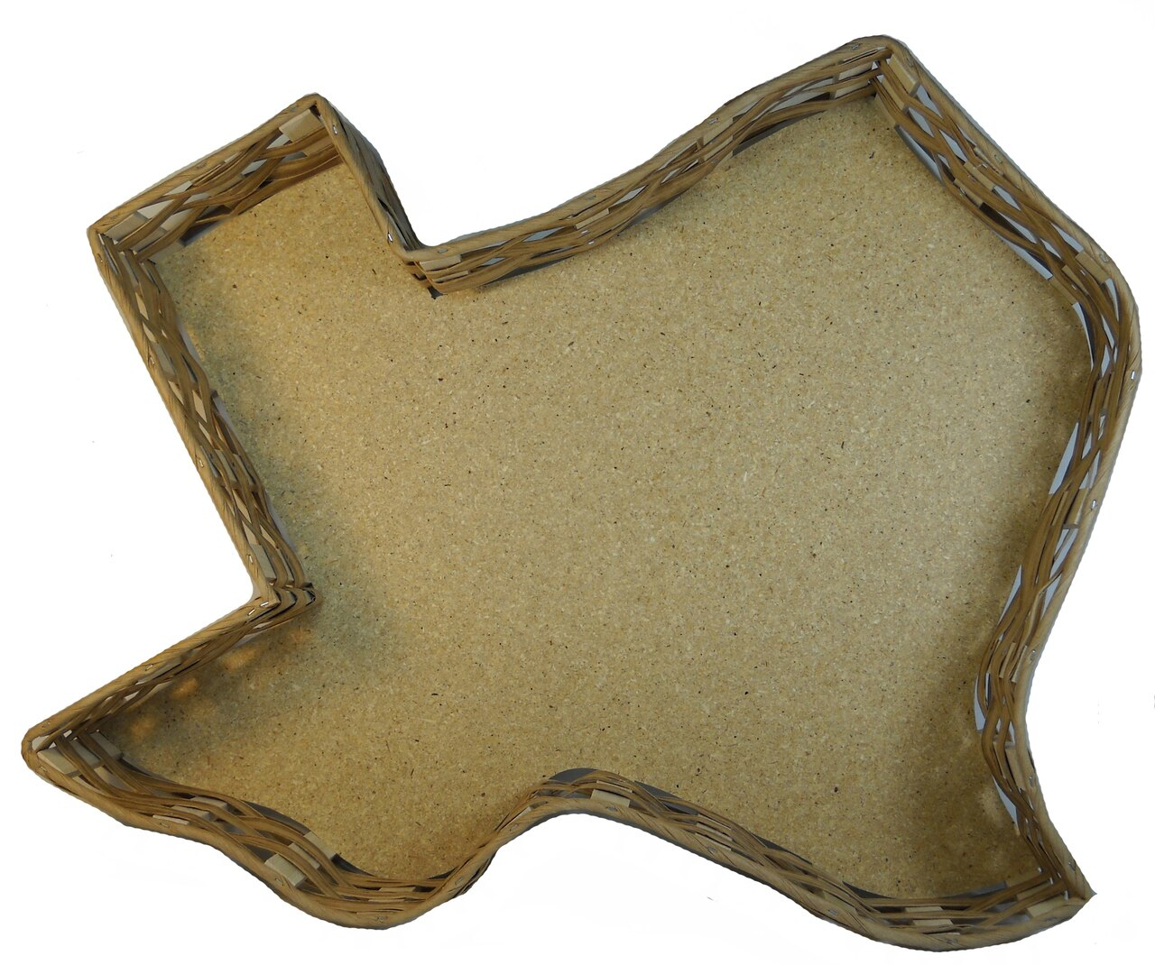 13 inch Texas Shaped Basket 1