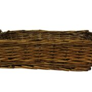 Wicker Tray with Handles