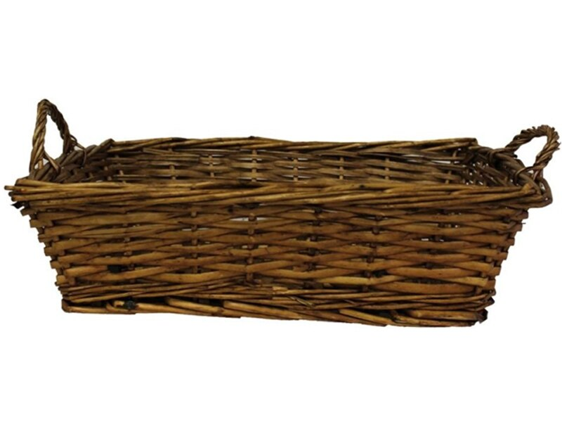 Wicker Tray with Handles 1