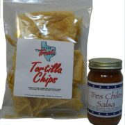 Texas Chips (3oz) & Salsa