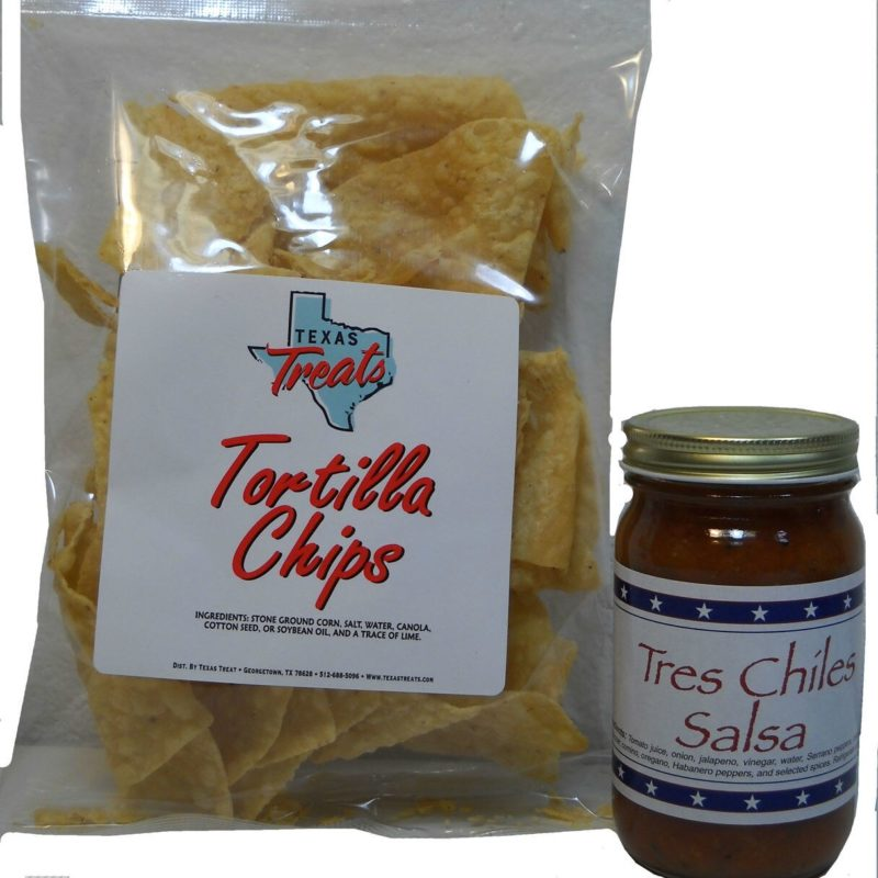 Texas Chips (3oz) & Salsa