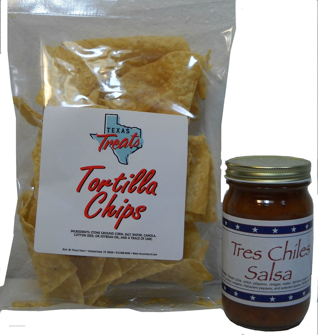 Texas Chips (3oz) & Salsa 1