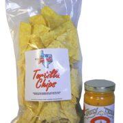6 OZ Tortilla Chip Queso Combo