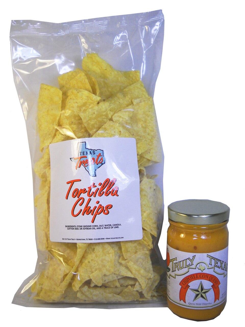 6 OZ Tortilla Chip Queso Combo 1