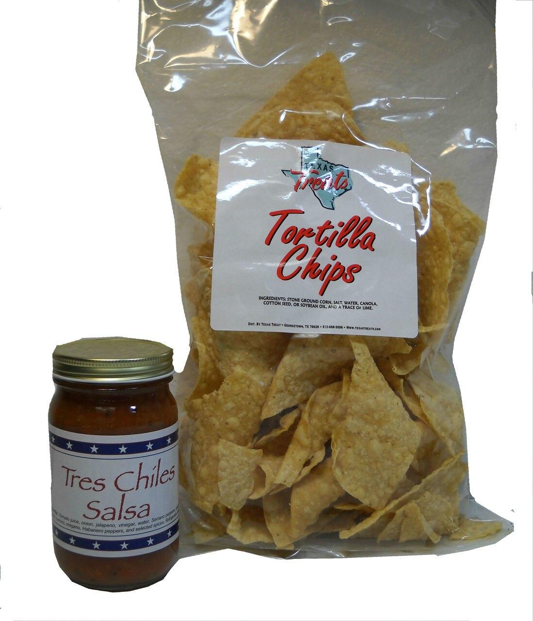 6 oz Tortilla Chips Salsa Combo 1