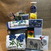 Blue Bonnet Gift Basket