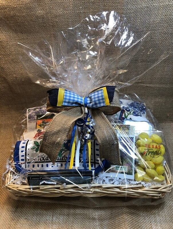 Blue Bonnet Gift Basket