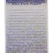 Bluebonnet Memo Note Pad