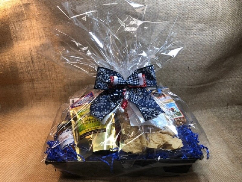 Cowboy Crowd Pleaser Gift Basket 1