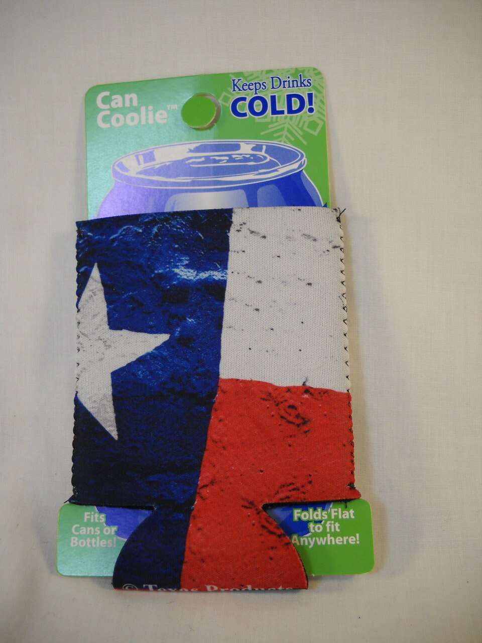 Koozie – Texas Flag (Neoprene) 1