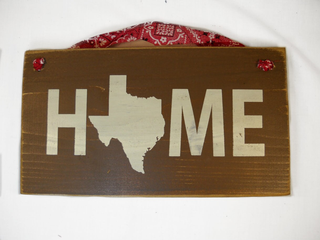 Wooden Home Sign 1