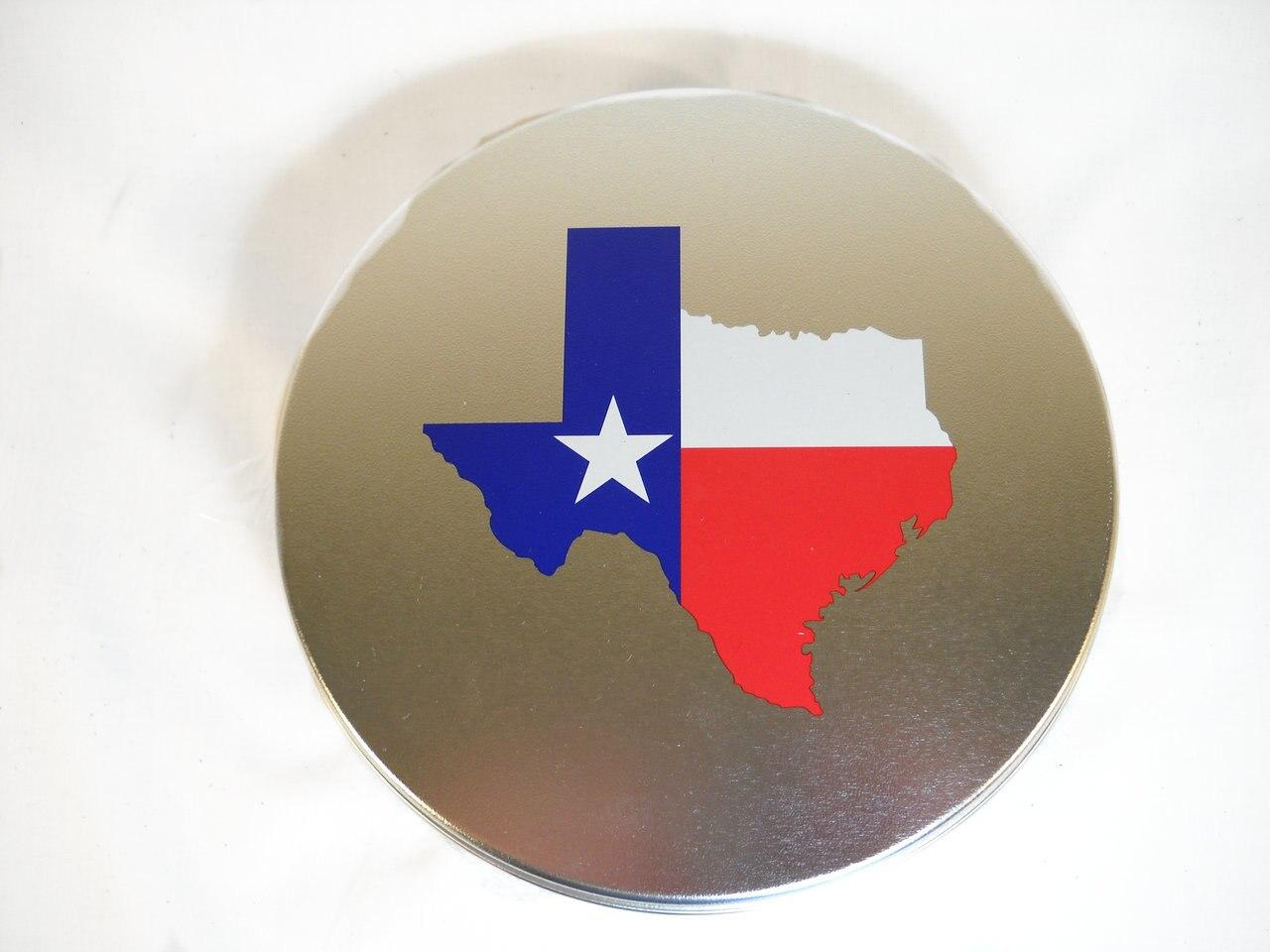 Tin of Texas Pecans 1