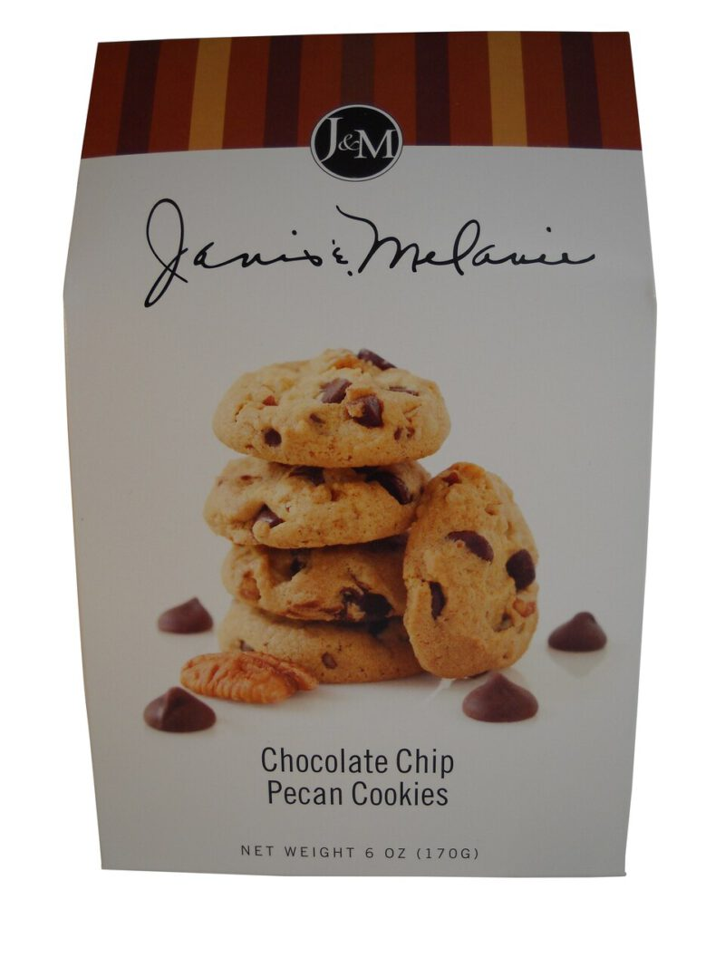 J & M Chocolate Chip Pecan Cookies