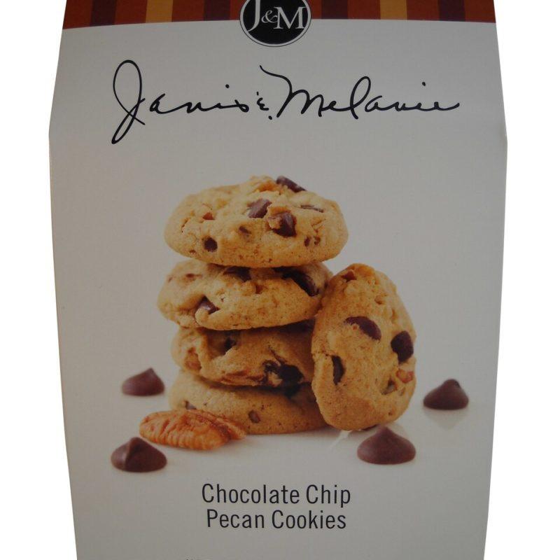 J & M Chocolate Chip Pecan Cookies