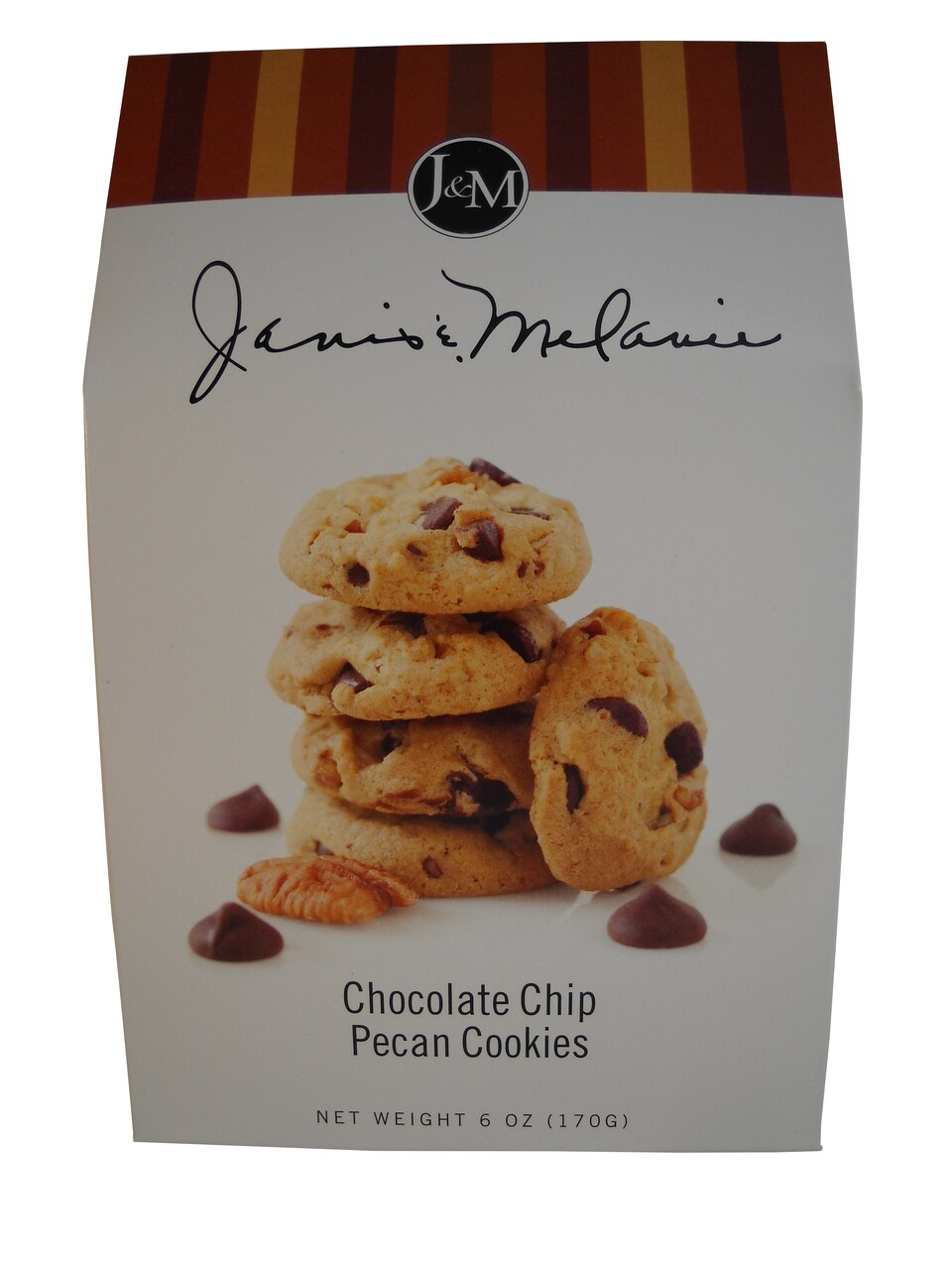 J & M Chocolate Chip Pecan Cookies 1