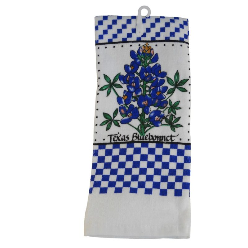 Bluebonnet Kitchen Hand Towel
