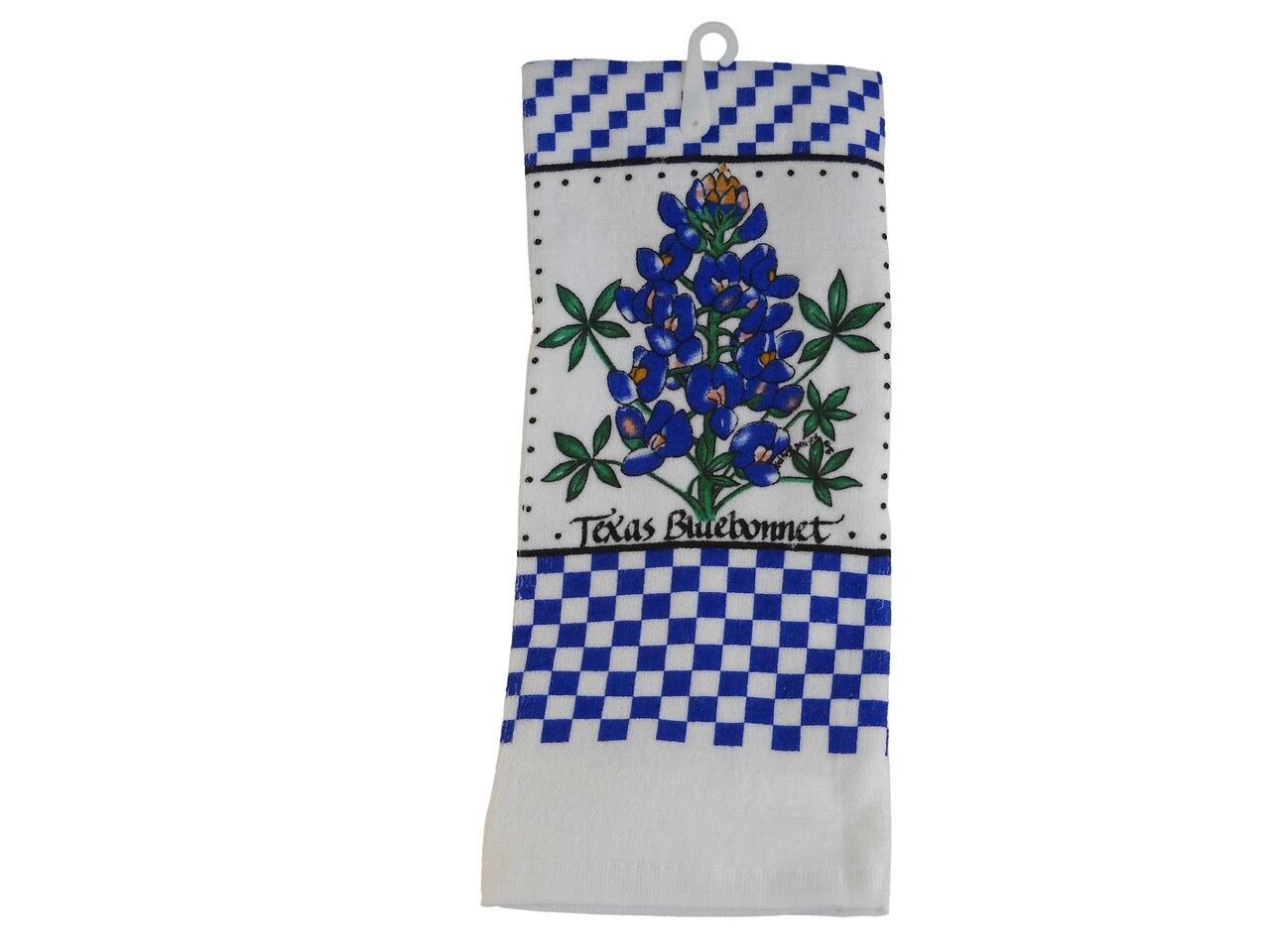 Bluebonnet Kitchen Hand Towel 1