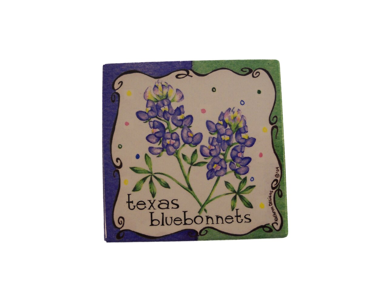 Bluebonnet Pot Holder 1