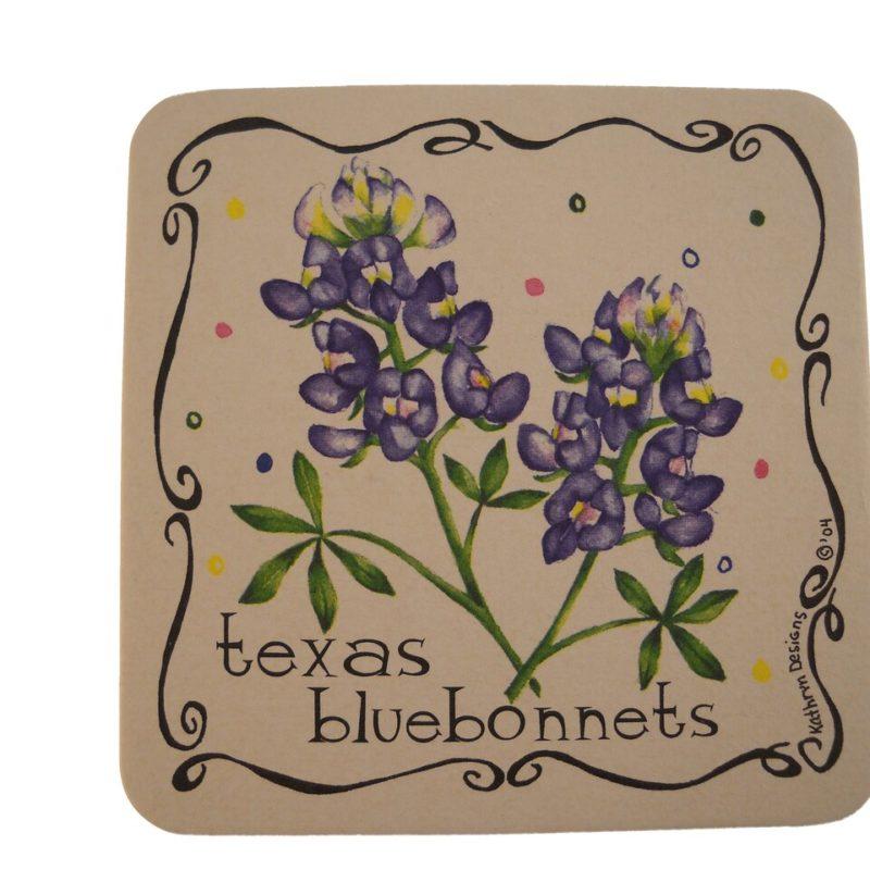Texas Bluebonnet Coaster