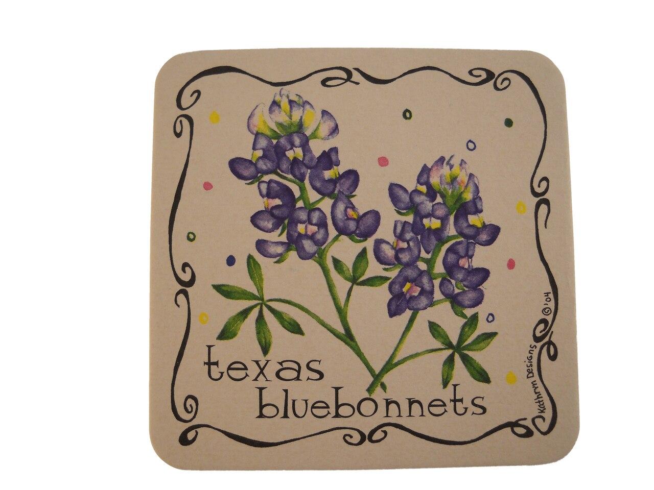 Texas Bluebonnet Coaster 1