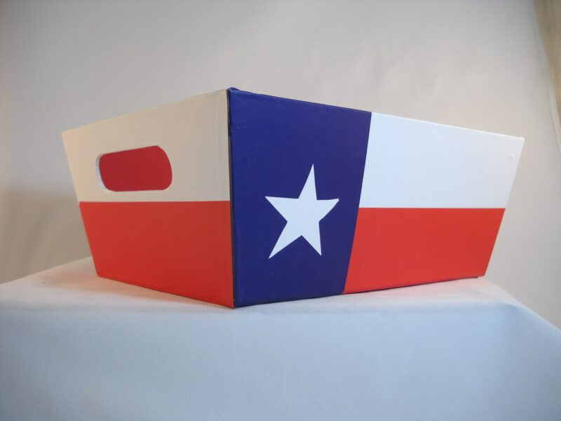Texas Flag Gift Box