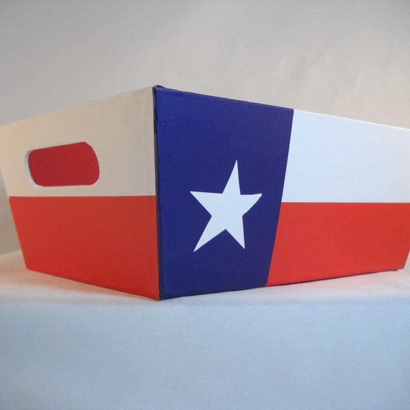 Texas Flag Gift Box