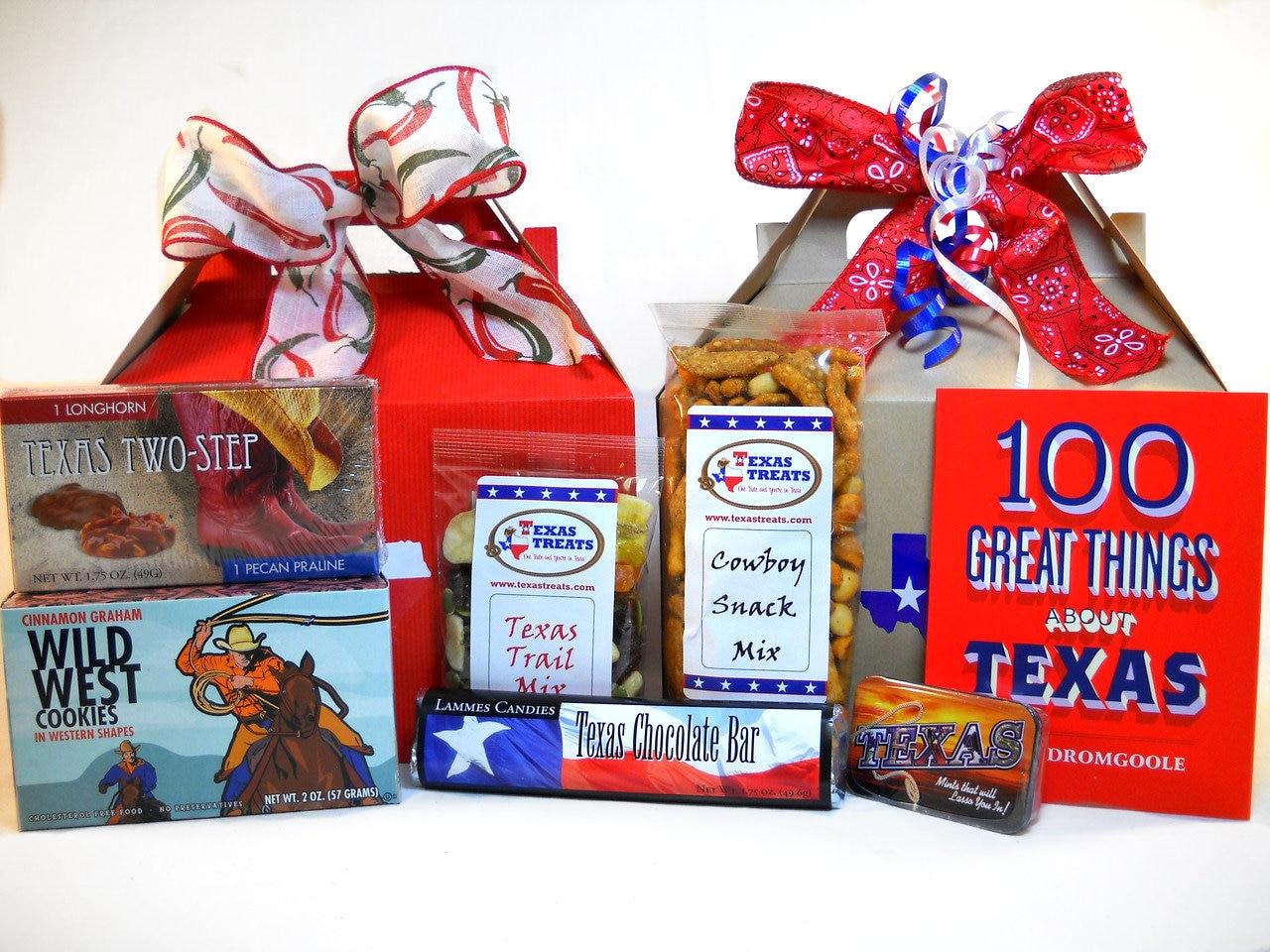 Hello Texas Food and Souvenir Gift Set Medium 1