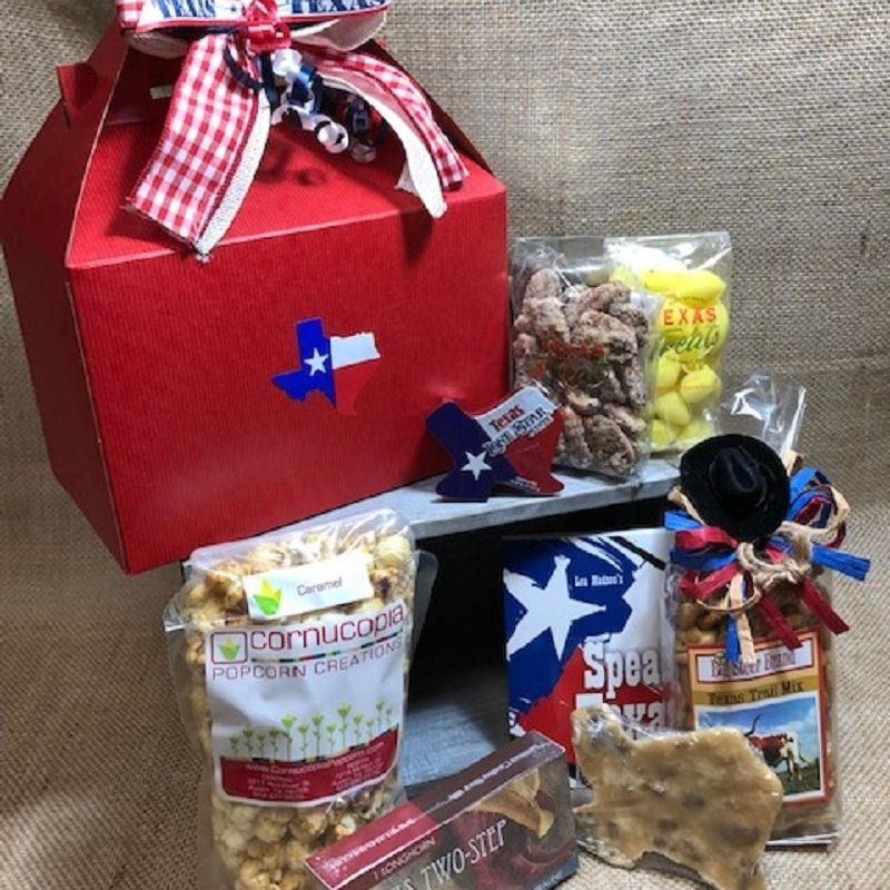 Hello Texas Food and Souvenir Gift Set Large