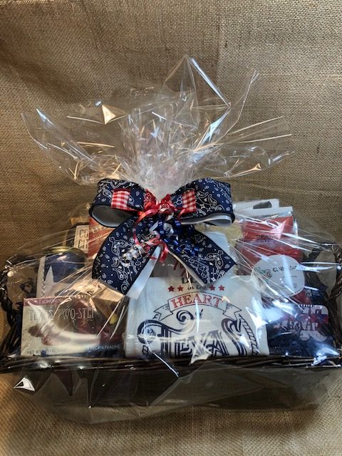 The Cattleman Texas style Gift Basket