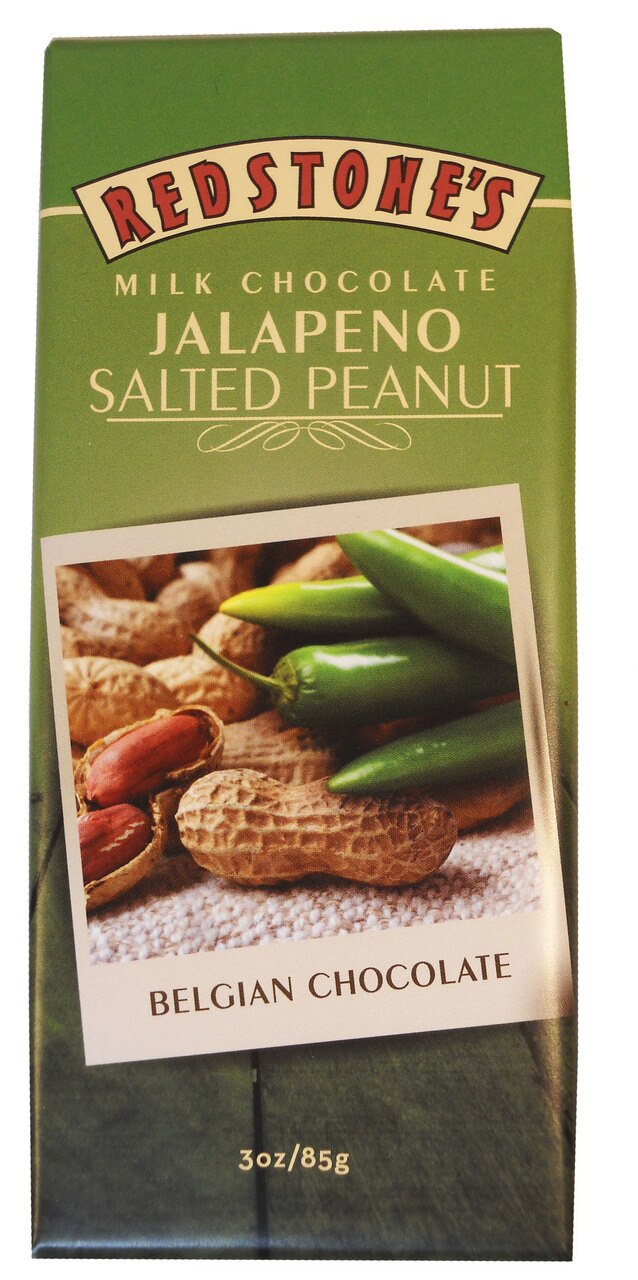 Jalapeno Salted Peanut Chocolate Bar