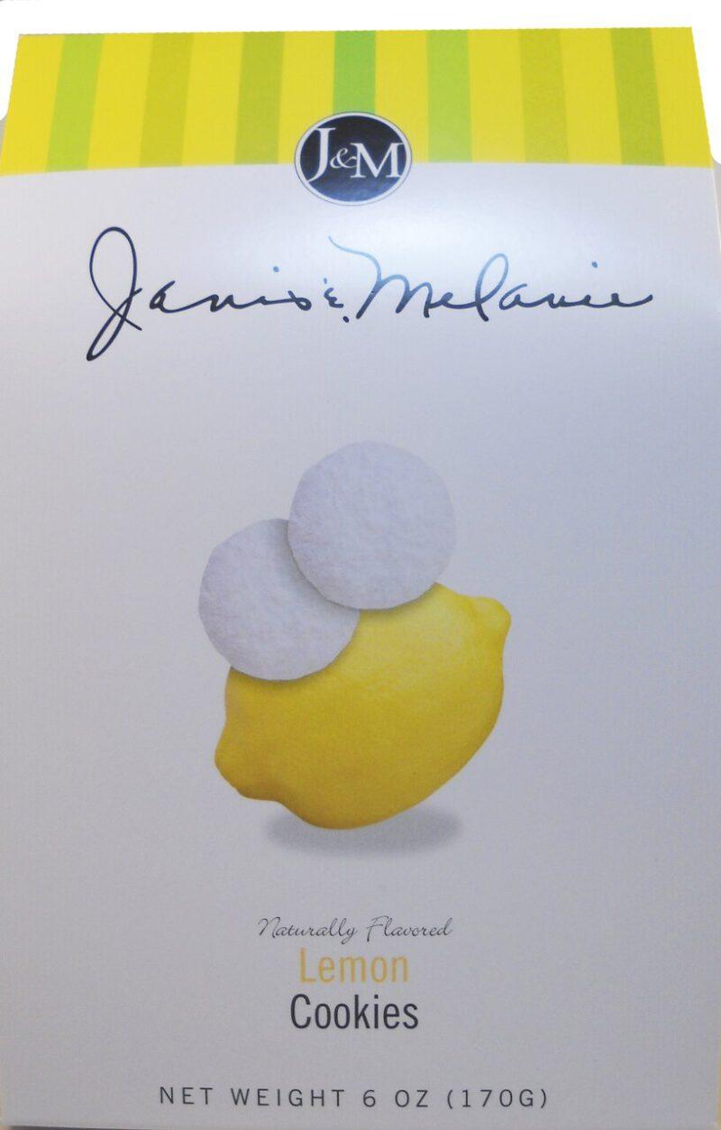 J&M Lemon Cookies