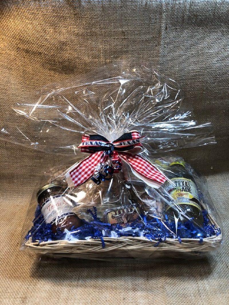 Little Bit of Texas Tray Gift Basket