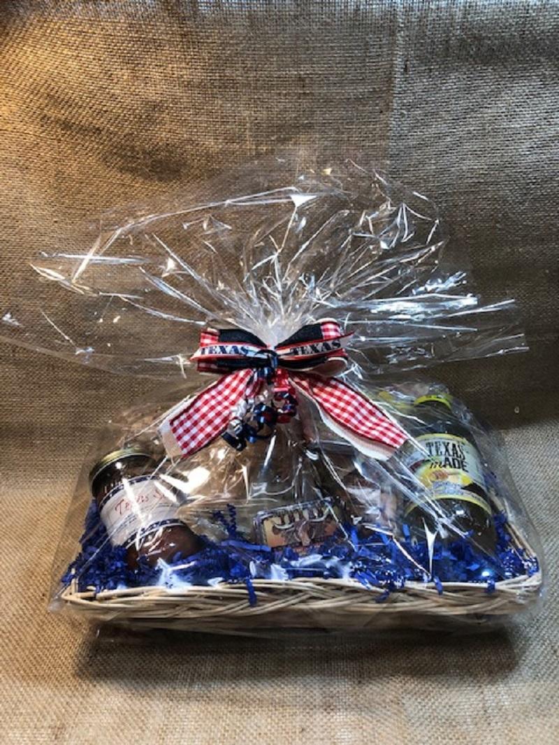 Little Bit of Texas Tray Gift Basket 1