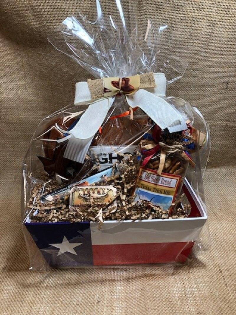 Longhorn Gift Basket 1