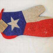 Texas Flag Oven Mitt