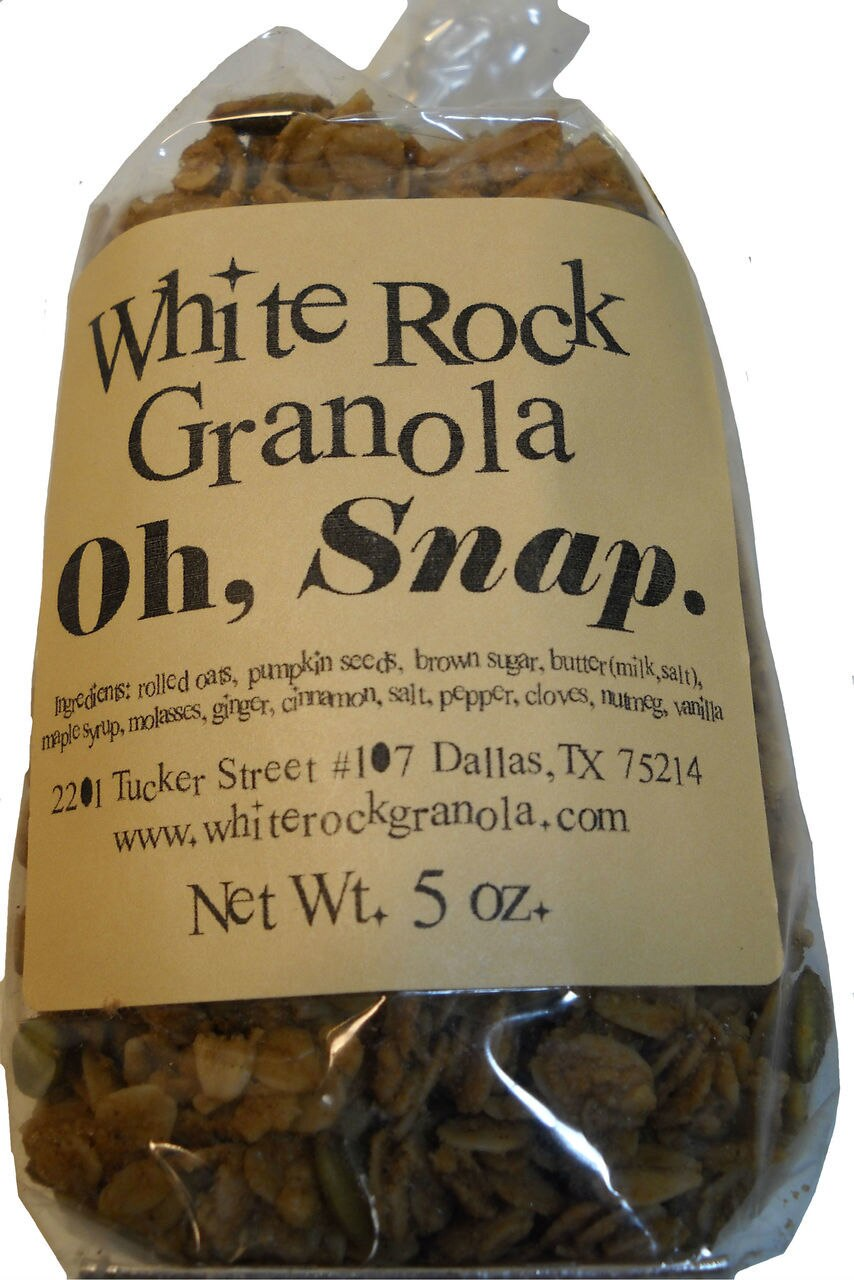 Oh, Snap Granola 1