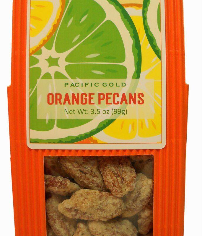 Orange Pecans