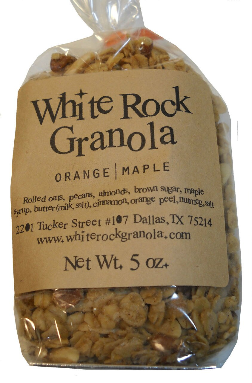 Orange Maple Granola 1
