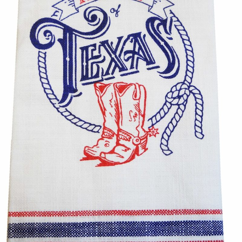 Texas Pride Tea Towel