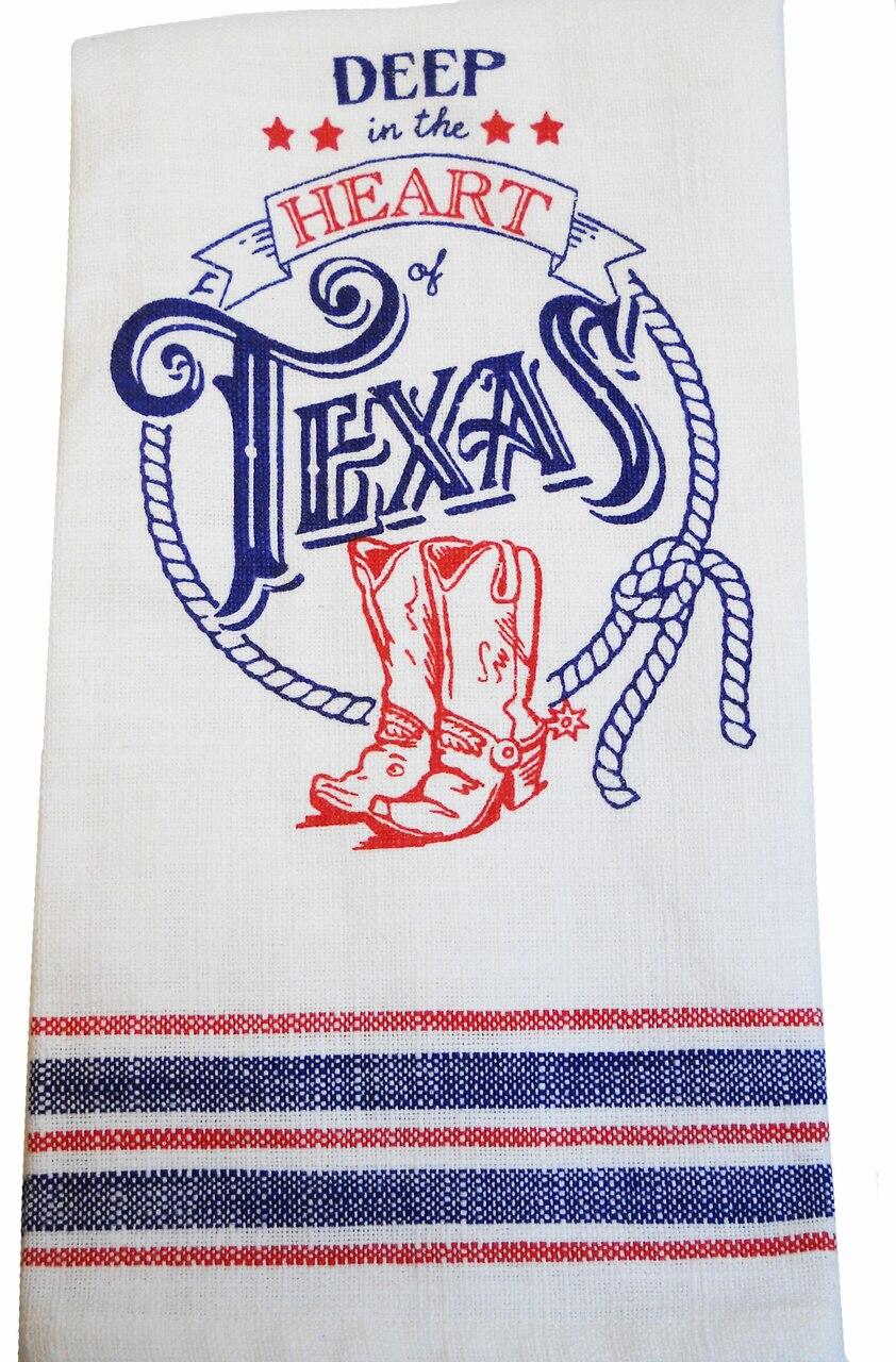 Texas Pride Tea Towel 1
