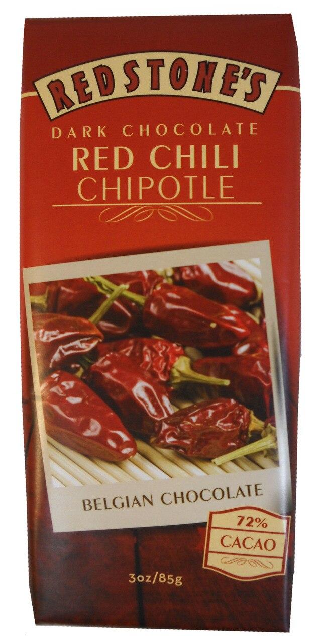 Red Chili Chipolte Dark Chocolate Bar