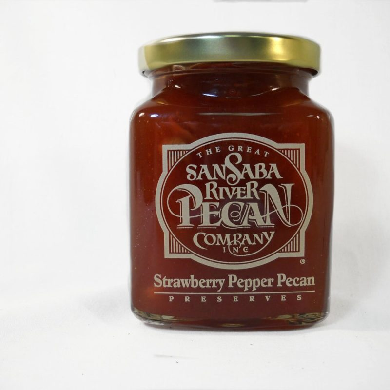 Strawberry Pepper Pecan Preserves