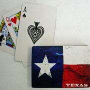 Playing Cards - Texas Flag