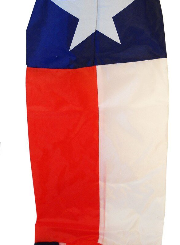 Texas Flag Windsock