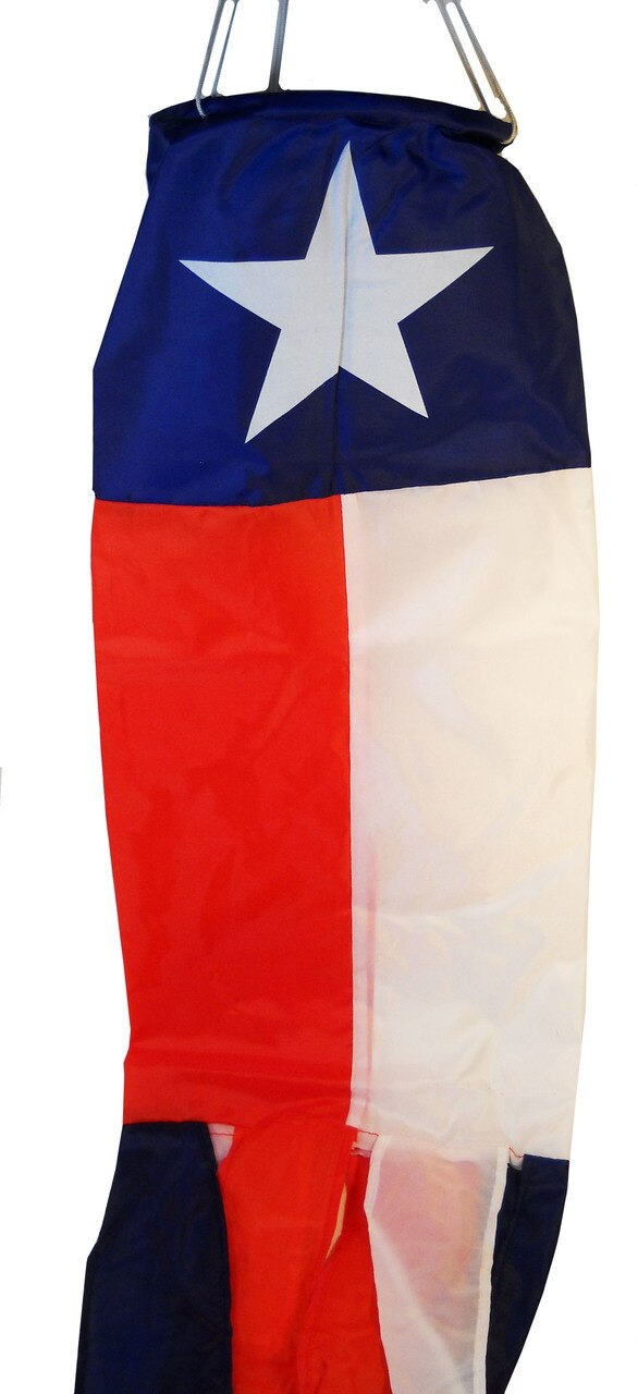 Texas Flag Windsock