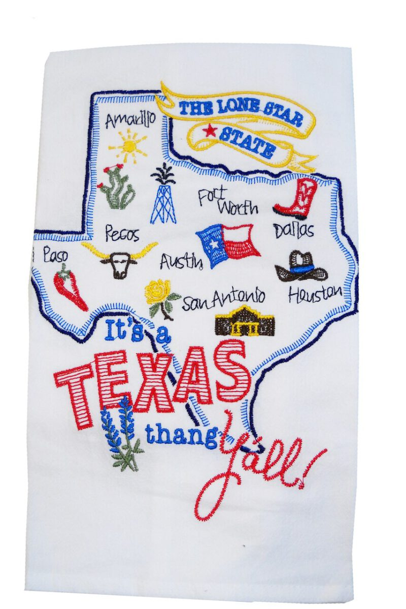 It's a Texas Thang Towel