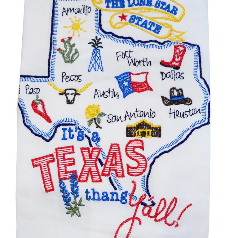 It's a Texas Thang Towel